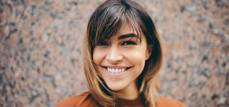 Woman Closeup Cosmetic Dentistry - Marcos Ortega DDS Hillcrest San Diego